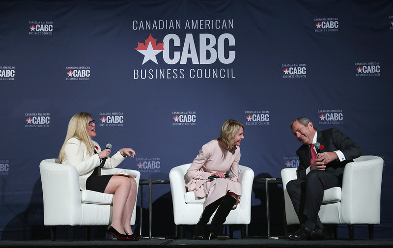 Canadian American Business Council reception dinner in Ottawa.