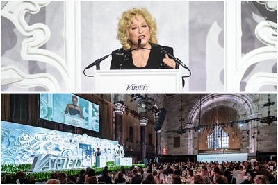 VARIETY MAGAZINE - POWER OF WOMEN HONORS BETTE MIDLER