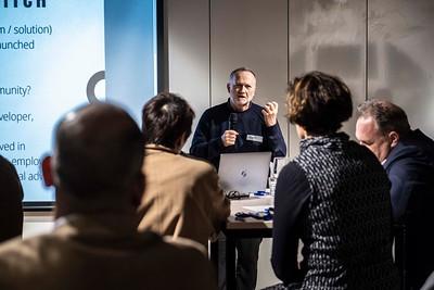 Open mic networking event at Swinburne University's Innovation Centre