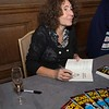 Horrid Henry authoress, Francesca Simon signs copies of her latest book