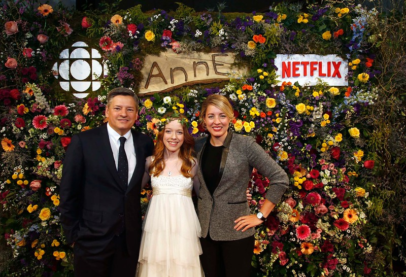 CBC / Netflix gala of Anne at NAC in Ottawa.