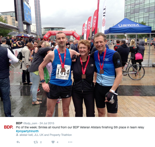 C - JLL Property Triathlon / Media City