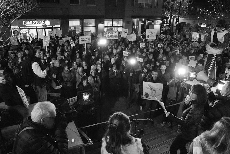 Impeachment Eve Rally - San Rafael California