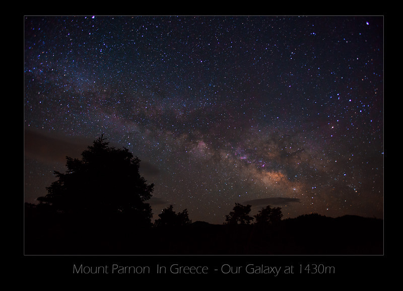 Our Galaxy - Mt Parnon , Greece