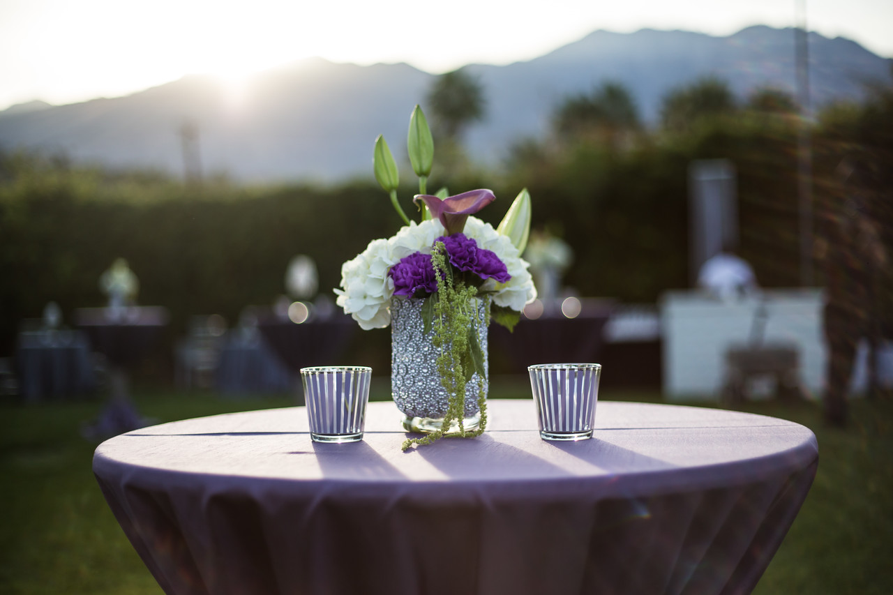 On Site at the Parker Palm Springs  Event design and management: Tamara Bryant/Sensorium Event Productions