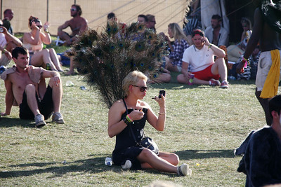 Fancy dress at Bestival, Isle of Wight