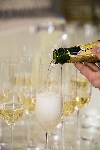 adding a little fizz to the occasion