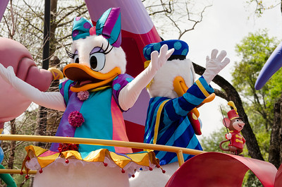 Festival of Fantasy- Donald and Daisy