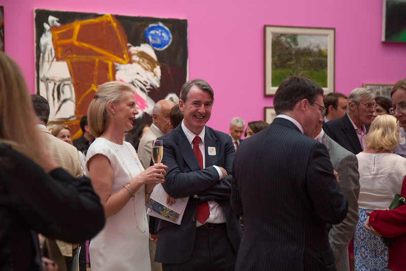 Marie Curie fundraining event at the Royal Academy Summer show