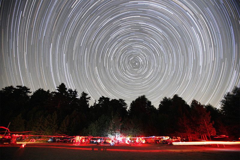 Startrails at Mt Parnon