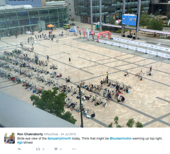 JLL Property Triathlon / Media City