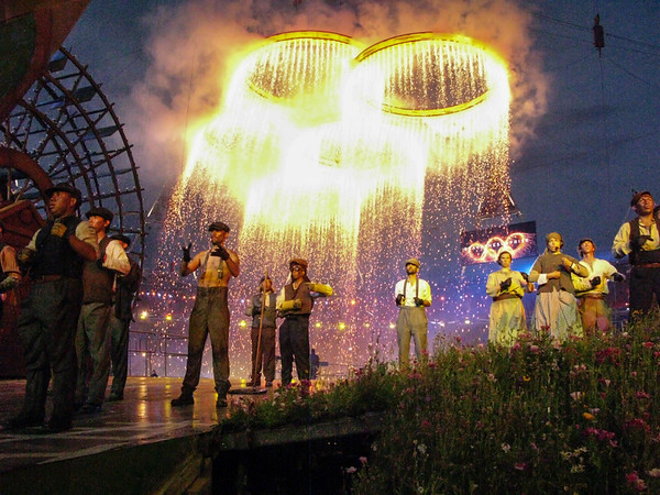 Olympic Rings of Fire,  2012 Summer Olympics Opening Ceremony