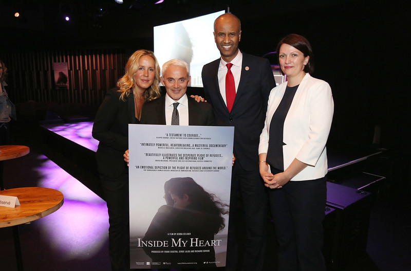 "Premier of ""Inside My Heart"" at The National Arts Centre in Ottawa."