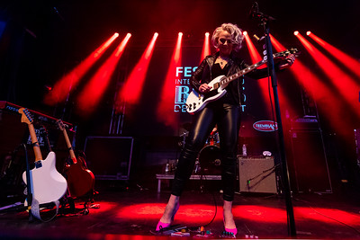 Mont-Tremblant, QC - July 12 2019 - Samantha Fish plays at the Festival International Du Blues De Tremblant at Tremblant, (Photo par: Gary Yee)