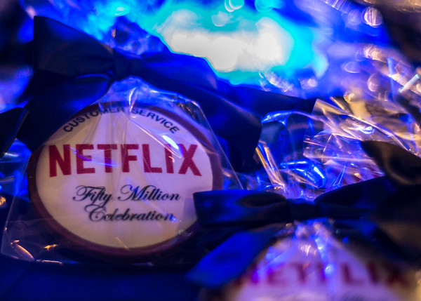 Netflix 50 Millionth Subsciber Appreciation Party