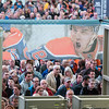 People line up to see Rogers Place during the public open house on Saturday morning Sept. 10, 2016.(John Lucas/City of Edmonton