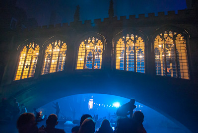 Bridge of Sighs, St John's May Ball, Cambridge