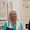 Anneka Rice enjoying the event