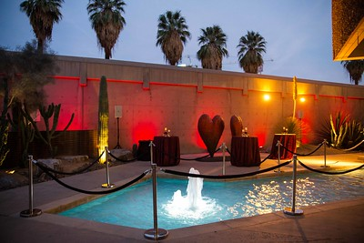On Site at the Palm Springs Art Museum Event design and management: Tamara Bryant/Sensorium Event Productions