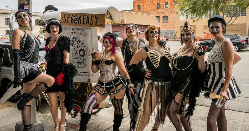 Girls of a Feather - Folsom Street Leather Fair