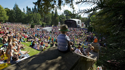 The suns shines on Belladrum Festival. Picture by Paul Campbell