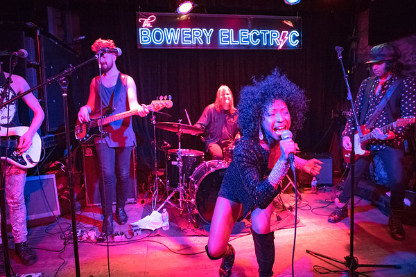 Diva N'Kenge - The Bowery Electric, NYC - May 2017