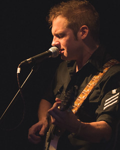 Ben Ballinger plays at the River City Saloon in Hood River, Oregon on Jan 2nd, 2015
