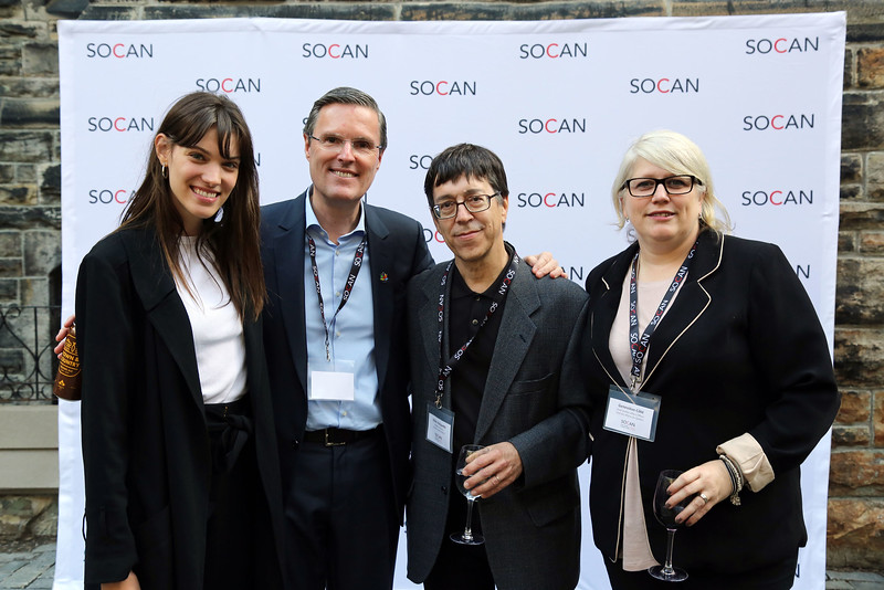 SOCAN reception on Parliament Hill in Ottawa.