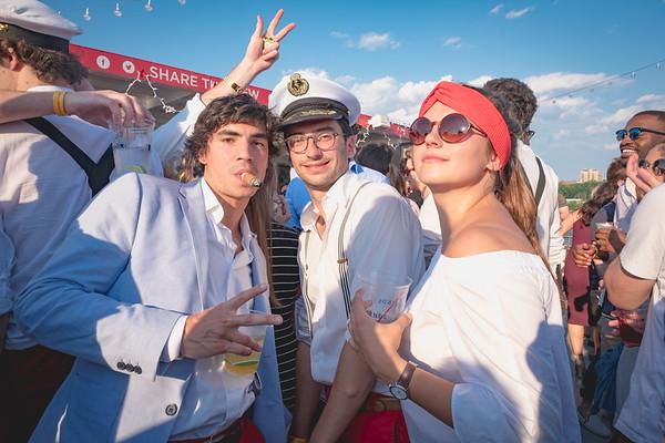 Zero Monte Carlo Boat Party - Hudson River 6/10/17
