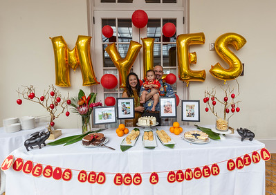 Myles's Red Egg & Ginger Party
