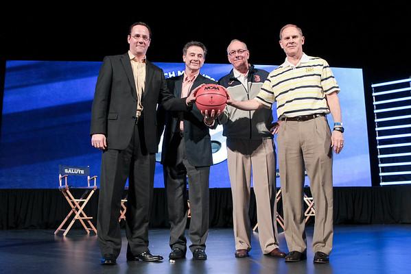NCAA Men's Final Four Salute
