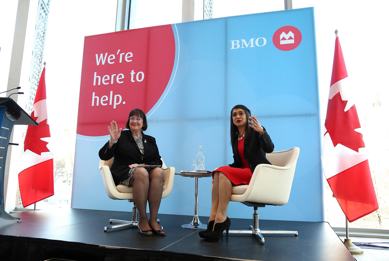BMO Women Entrepreneurs and Innovation report launch in Ottawa.
