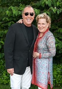NYC Gracie Mansion - Michael Kors and Bette Midler