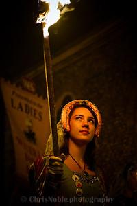 Bonfire Night, Lewes, Sussex, England
