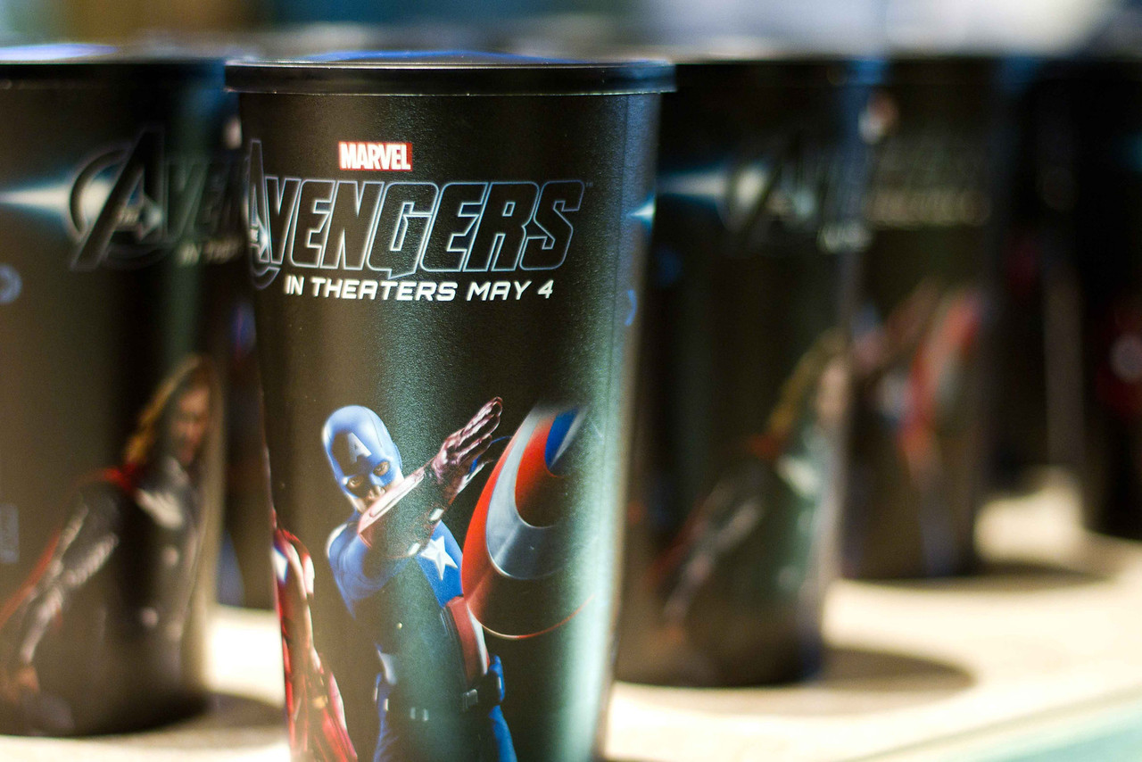 """""""The Avengers"""" Premiere at the El Capitan, Hollywood"""