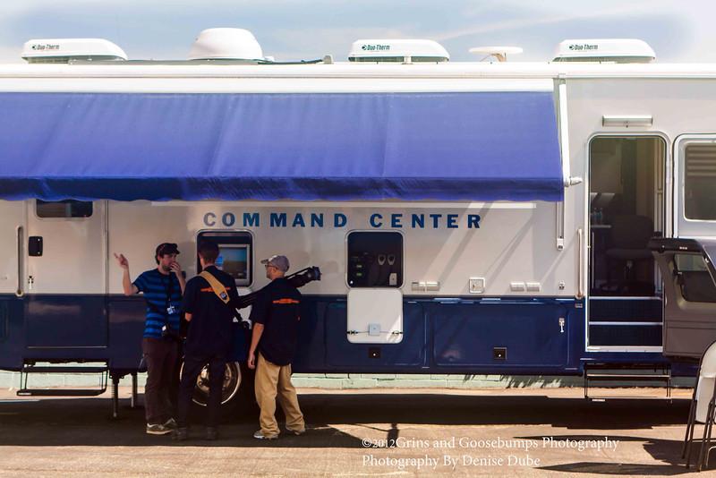 command Center in El Segundo California for the final flight of the Space Shuttle Endeavor.