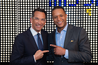 NBC TV Personalities David Price and Calvin Melvin