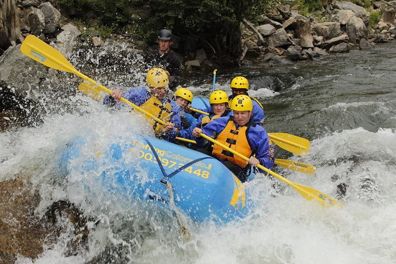 River Rafting at Colorado Adventure Center