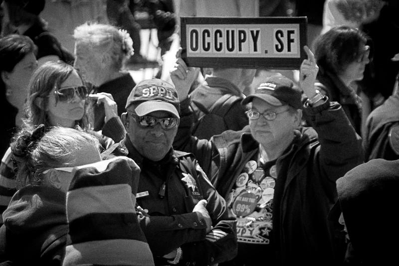 Occupy SF in Union Square