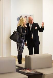 Michelle Pelafas and Mario Tricoci | Photo by Jordana Wright