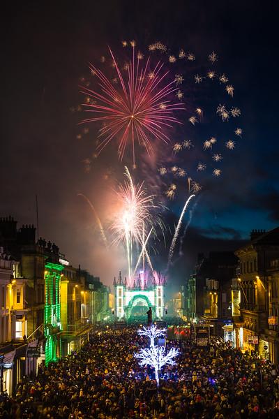 Edinburgh Light Night 2016