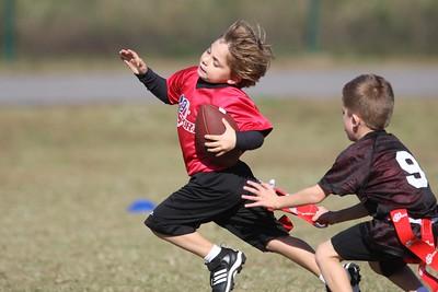 i9Sports Football Sanford Creek PeeWee 11/7
