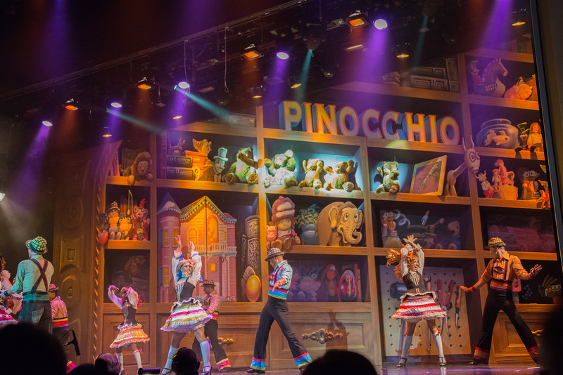 Shows on Royal Caribbean Freedom of the Seas Cruise Ship