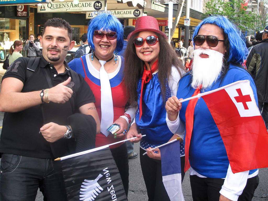 The World Cup Rugby Final night Fan Trail