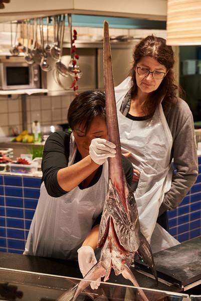 Kochkurs Schwert & Tunfisch im REWE Grafing