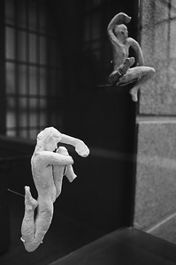 Musee D' Orsay figures, Paris, France 2001