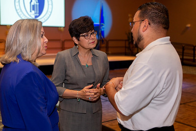The 50th Anniversary of CCSU's Educational Opportunity Program kicked off at Alumni Hall in the Student Center with a reception featuring speakers and graduates of EOP on June 29, 2018 in New Britain, CT (image by Johnathon Henninger for CCSU)