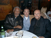 Morgan Freeman, Richard Heyward, James Lipton at Elaine's, New York City