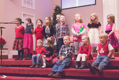 PreSchool Choir Christmas Musical 2014