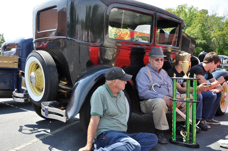 Mr. Kemp Medlin from Beuford, SC wins First Place for his 1929 Modal A Original Classic from Central Baptist Church Car Show in Wesley Chapel, NC